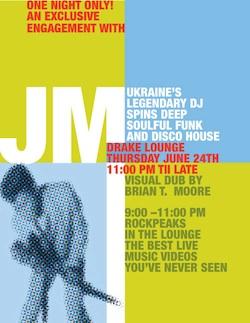 DJ JM в Drake Hotel, Торонто