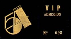 Studio 54 VIP card